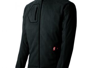 Victory Black Gerbing Heated Fleece Jacket