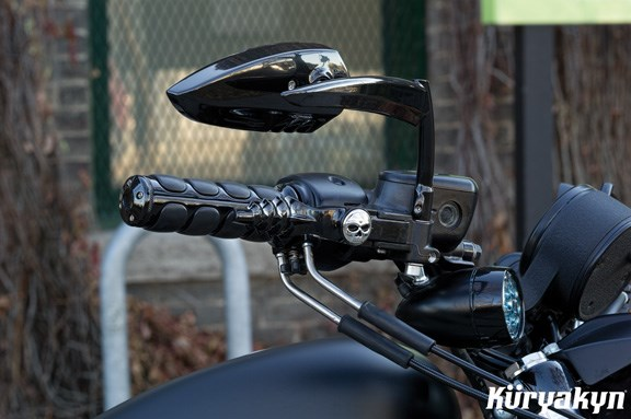 Victory Motorcycle Knife Shaped Mirror Set Victory