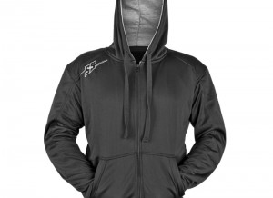 Armored Motorcycle Hoody Jacket Black