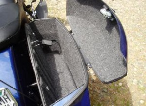 Pro Fit Hard Saddle Bag Liner Kits for Victory CrossRoads, CrossCountry, CrossCountry Tour Cross Country Tour Trunk and Vision Trunk Kits are easy to install and include all that you will need to get a quality finish. We have included the custom cut pieces to cover the interior of your bags and lids with professional grade lining along with a professional adhesive to ensure your high quality interior withstands the rigors of the road.