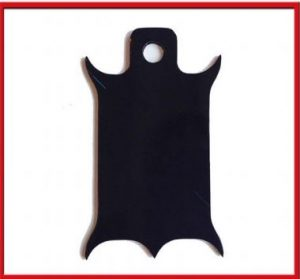 Inspection Sticker Plate • These inspection sticker plates mount to any 1/2″ or smaller bolt • Comes in black finish