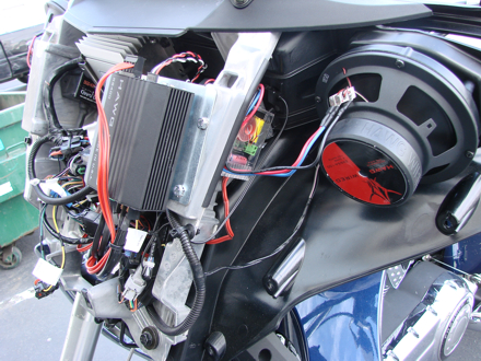 CS/RS Series Amplifier Install Kit Cross Country on
