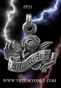 lady rider zipper pull CUSTOM MOTORCYCLE ART JACKET PANTS