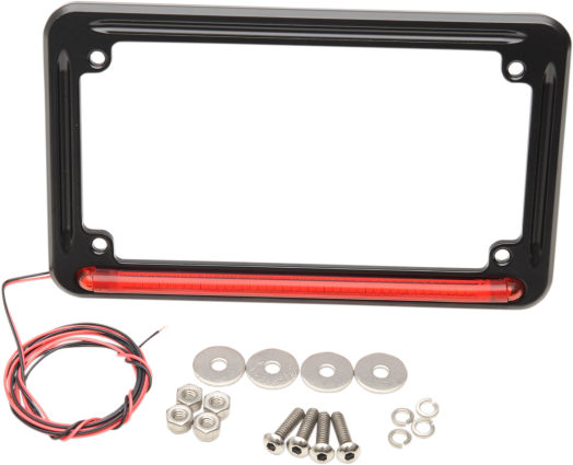 3RD BRAKE LIGHT LICENSE PLATE FRAME Victory Motorcycle Parts for ...