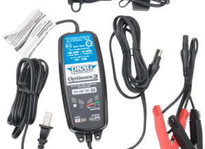 7-step 12V 0.8A Battery saving charger-tester-maintainer