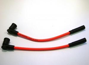 Spark Plug Wires Colored Orange 02 - 07