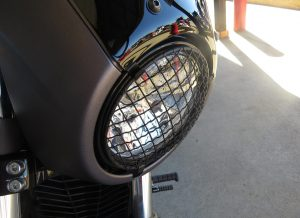 Victory Octane Rock Headlight Guard Cover