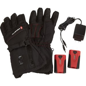 Gerbing's S3 heated gloves for women are arguably the best heated gloves in the world. These new upgraded S3 gloves are similar to the S2 but have a higher level of performance and a more comfortable fit. Our S3 gloves are designed for winter adventures such as snowmobiling, skiing and snowboarding. These coreheat7 gloves are waterproof, dexterous, warm and durable, and ready for wind and snow. On-cuff control and up to 8 hours of heat enable you to conquer the temperature of speed all day. SKU: GLCHS3 Max Heat: 135 F @ 7.7W Power: 7V 2.2Ah li battery Build: Ski & snow sport glove with Gerbing's classic red lining Materials: Nylon shell, tricot lining Gerbing S3 Gloves Include: 2 Heated Gloves (1 pair) 2 Rechargeable Lithium-Ion Batteries 1 Dual Battery Charger Gerbing Core Heat 7 Battery Powered Clothing: The Core Heat 7 thermovelocity system is powered by 7V lithium ion batteries that provide mobility and warmth for any outdoor activity. Coreheat7 garments are designed to keep you warm while hunting, working, skiing, or just walking the dog. Gerbing Microwire Heating: The Microwire system is the most durable and efficient thermo-technology platform ever developed. Products incorporating Microwire technology utilizes patented micro-sized stainless steel fibers intertwined and encased in a proprietary waterproof coating. Gerbing Microwire technology will provide even heating for ultimate comfort. Gerbing Core Heat 7 Volt Battery Products Include: Includes the battery and charger you need to power your Gerbing heated product. You may purchase additional batteries and extended-life batteries for prolonged use. How to measure your hand. Step 1. Measure around the widest part of your hand (In-between your index finger and thumb) Step 3. Match your hand size (inches) up to the size chart Step 4. Buy with confidence!
