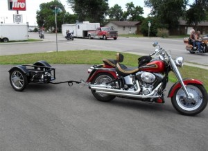 spartan motorcycle cargo trailer pull behind trailer