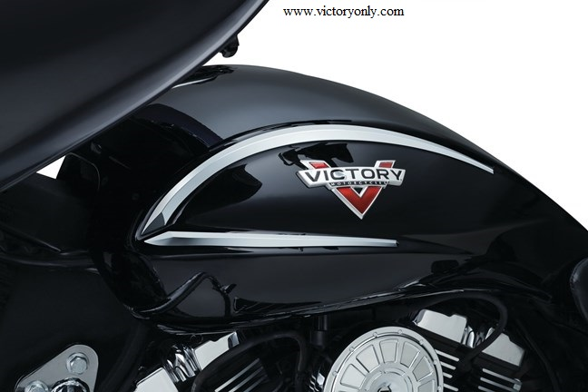 Chrome Gas Tank Accent Lines Speed Xc Victory Motorcycle