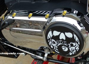 steel bolts candy YELLOW victory motorcycle cam cover derby cover Vegas, Hammer, Jackpot, Kingpin, Cross Country, Cross Roads, Kingpin Judge, Gunner, Highball, Boardwalk