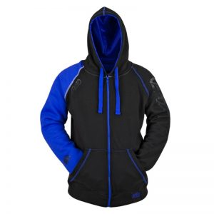 Armored Motorcycle Hoody Jacket Blue