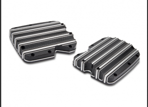 Rocker Box Engine Cover 10 gauge chrome, black