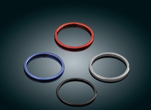 victory grip rings chrome blue red