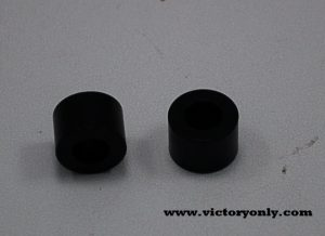 Black Spacer 11.10 mm tall 8.15 mm inside diameter 16 mm Outside Diameter