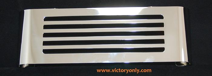 Oil Cooler Cover BAR V DESIGN CHROME