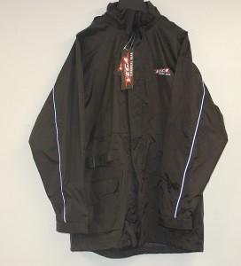 Vega Rain Jacket Black Waterproof