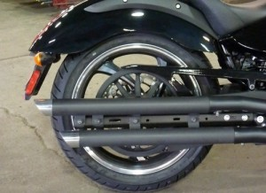 Victory Motorcycle Exhaust Slip stick Stagger Black or Chrome Victory Boardwalk Victory Gunner Victory Hammer Victory High Ball Victory Jackpot Victory Judge Victory Kingpin Victory Vegas