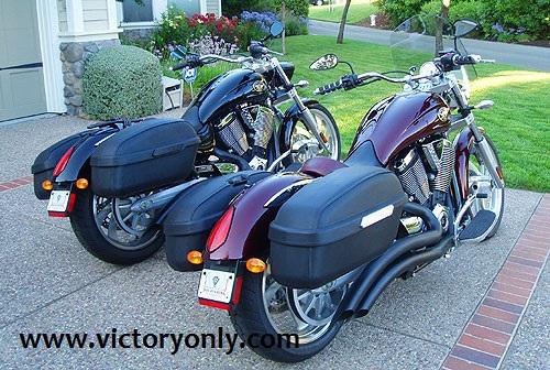 Victory Hammer 8 Ball Saddlebags Victory Motorcycle 8 Ball