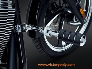 Victory Motorcycle Frame Mount Highway Pegs Chrome Victory