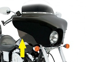 Batwing Fairing Wind Deflectors