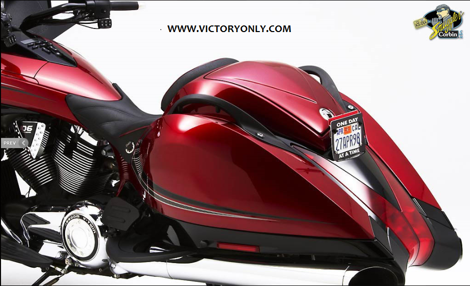 Victory Motorcycle Parts >> Trunk Corbin Smuggler Seat Kit Color Matched