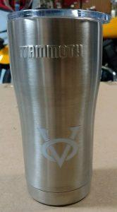 victory only logo mug small logo