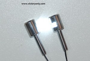 victory Bolt LED License Plate Stainless victory motorcycle parts