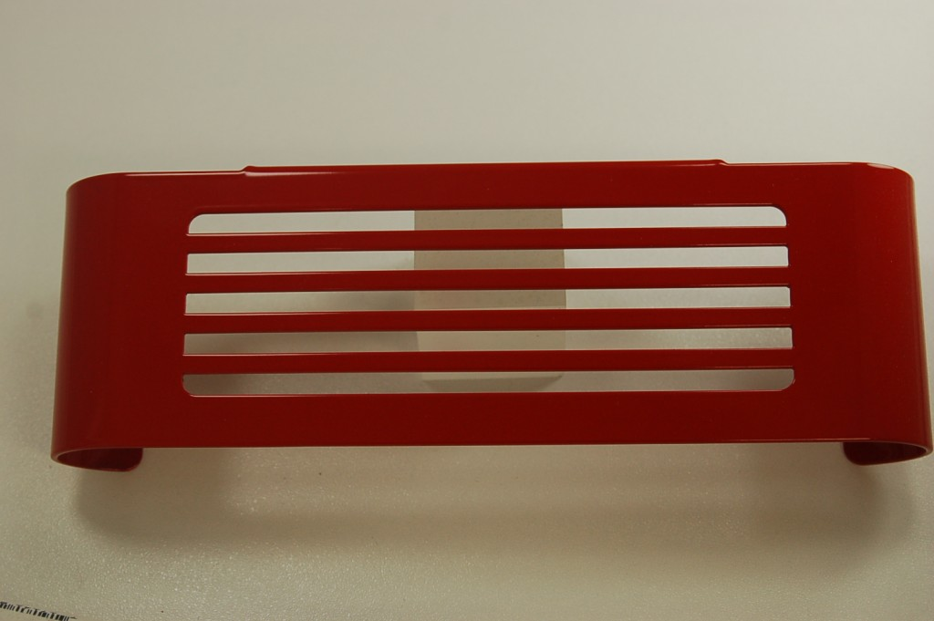 Red Victory Motorcycle Oil Cooler Cover Bar Style Victory Only Motorcycle Accessories