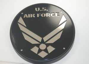 Engine Cover Victory Black Air Force