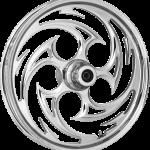 Wheel Rear Cross Country Black, Chrome Majestic