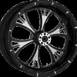 Wheel Rear Cross Country Black Majestic