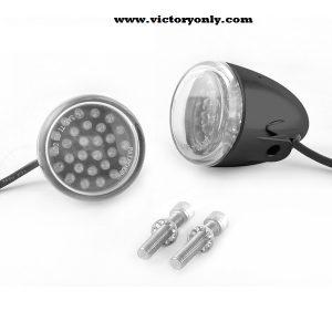 Black Bullet White LED Bolt_Mount
