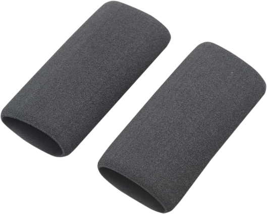 Slip over existing grips for greater comfort, or to renew worn grips