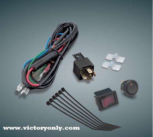 16-126 - DRIVING LIGHT WIRING KIT Victory Motorcycle Parts for Victory  Custom BikesVictory Only