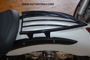 RACK REAR SOLO CHROME OR BLACK VICTORY MOTORCYCLE VEGAS KINGPIN HIGHBALL