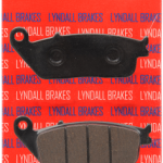 Lyndall Victory Vision Brake Pad made in the USA Racing formula offers extreme stopping power in both wet and dry conditions