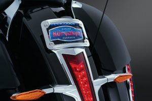 "The stock trim around the sides of the Victory taillight is a nice touch, now you can finish off the look with this Taillight Top Trim. Chrome Plated ABS plastic and peel-&-stick installation make this a ""must have"" for any Cross Country"