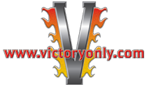 logo victory only custom victory motorcycle