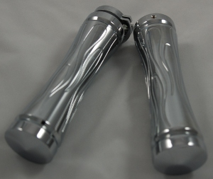 Foot Pegs, Chrome, Magnum Flame