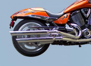 Exhaust, 24 Inch Slip-On, Slash Cut