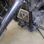 Oil Cooler Cover, V style, 2008 and newer, Polished