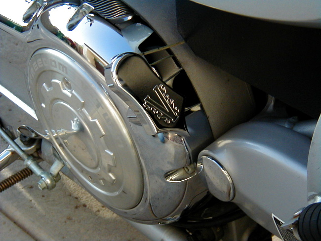 Easy Clutch, Slick, Chrome NOTE 1999-2000 MAY NEED TO RAISE SIDE COVER USING A WASHER SO EZ CLUTCH DOES NOT RUB. OVER TIME THESE BIKES HAD A RUBBER SPACER THAT WORE OFF OVER TIME AND ALLOWED THE SIDE COVERS TO DROP.