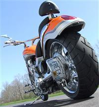 MBW Radius Vertical Sidemount License Plate Bracket
