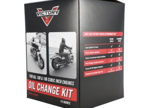 2879600 VICTORY MOTORCYCLE OIL CHANGE KIT FOR 100 AND 106 CU MOTORS