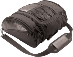 DELUXE SOLO RACK BAG EXPANDABLE