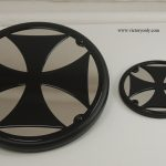Engine Cover Black Iron Cross