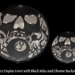 Engine Cover, Skull and 8Ball