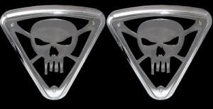 Lighted Wedge Cover, Skull no Bones