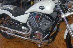 victory motorcycle replacement cheese wedge engine cover christian cross chrome red black cross country roads vegas hamer kingpin boardwalk